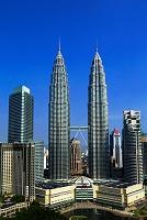 マレーシア ペトロナス・ツインタワー