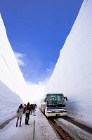 富山県 雪の大谷ウオーク