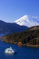神奈川県 富士山と芦ノ湖