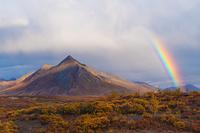 エンジェルコムピークと虹