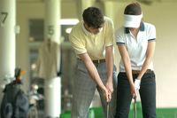 ゴルフの練習イメージ