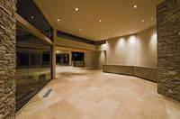 大理石の床のインテリア