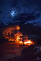 ハワイ キラウェア火山