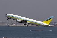 東京都 羽田空港 AIRDO ボーイング767