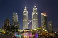 マレーシア クアラルンプール ツインタワー