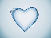 エコイメージ ハートの水