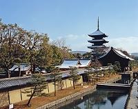 京都府 東寺 五重塔