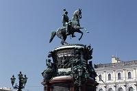 ニコライ1世の騎馬像