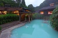 秋田県 夏の鶴の湯温泉