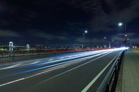 豊洲 富士見橋 レインボーブリッジ