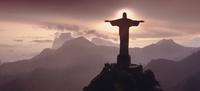 ブラジル リオデジャネイロ コルコバードのキリスト像