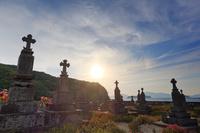 長崎県 頭ヶ島集落のキリシタン墓地