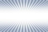 光と凹凸のメタリックイメージ CG