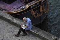 セーヌ河畔の老人