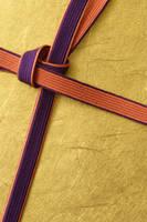 紫の組み紐
