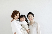 日本人の3世代母娘