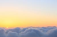 山梨県 朝日と雲海