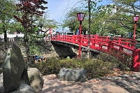 岐阜県 たらい舟と住吉橋 おくのほそ道の風景地