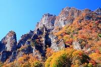 群馬県 下仁田町 妙義山 紅葉の彩と奇岩