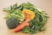 栄養素3群(カロチン)を多く含む食材