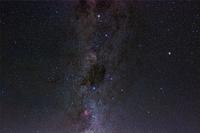 チリ アタカマ砂漠 星空