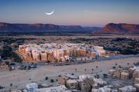 イエメン シバーム シバームの旧城壁都市