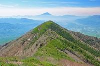 山梨県 三ノ頭と富士山