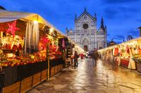 イタリア フィレンツェ サンタ・クローチェ教会 クリスマスマ...