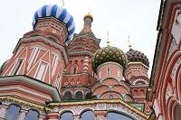 ロシア モスクワ ワシリー寺院