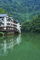 富山県 庄川峡と大牧温泉