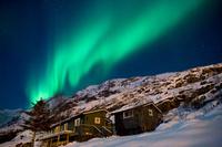 ノルウェー オーロラと山小屋