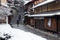 京都府 雪の三年坂
