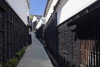 愛知県 足助の町並み マンリン小路