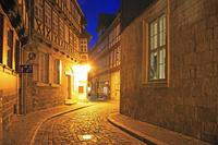 ドイツ クヴェートリンブルクの城と旧市街 世界文化遺産