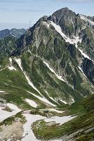 富山県 立山 剱岳 夏景色 テント場