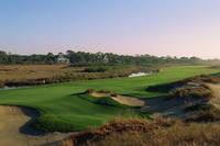 キアワアイランド・ゴルフリゾート オーシャンコース 13番ホー...