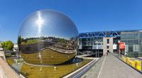 フランス シテ科学産業博物館 ラ・ヴィレット公園