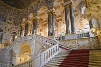 ロシア エルミタージュ美術館 冬宮 大使の階段
