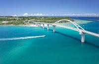 沖縄県 瀬底島 瀬底大橋