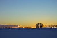 日の出前 帯広 北海道