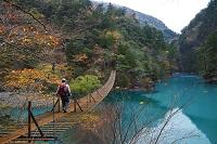 静岡県 夢の吊り橋 寸又峡