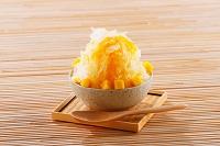 マンゴー味のかき氷
