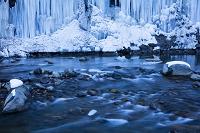 長野県 白川氷柱群