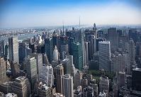 アメリカ合衆国 ニューヨーク マンハッタンのビル群