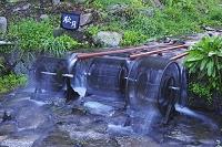 福岡県 杉の馬場の水車