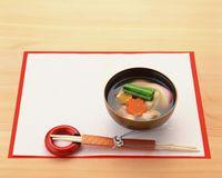 関東風 雑煮