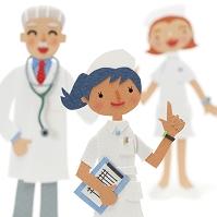 看護師と医者のクラフト