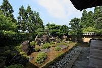京都府 一休寺・方丈庭園北庭