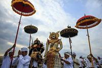 インドネシア・バリ島・ウブドの儀式