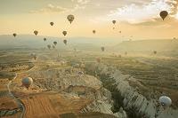 トルコ ギョレメ カッパドキアの気球ツアー